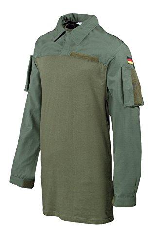 Leo Köhler Combatshirt Ripstop Combat Poloshirt Shirt Oliv 502