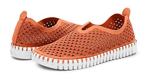 ILSE JACOBSEN HORNBÆK | TULIP3275 Schuhe | Light Weight Flats | Orange | 36 EU
