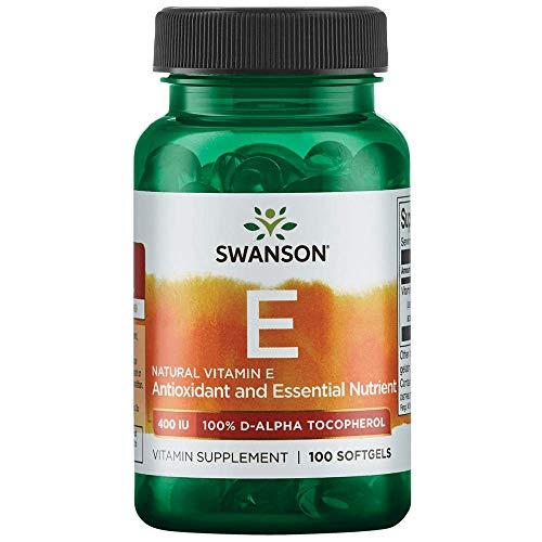 Swanson Natural Vitamin E 400 Iu (268 Milligrams) 100 Sgels