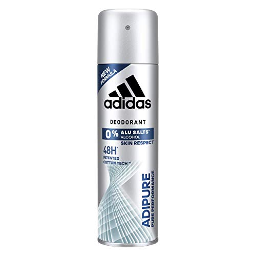 adidas Deodorant Adipure Deodorant 200 ml, 4 Stück