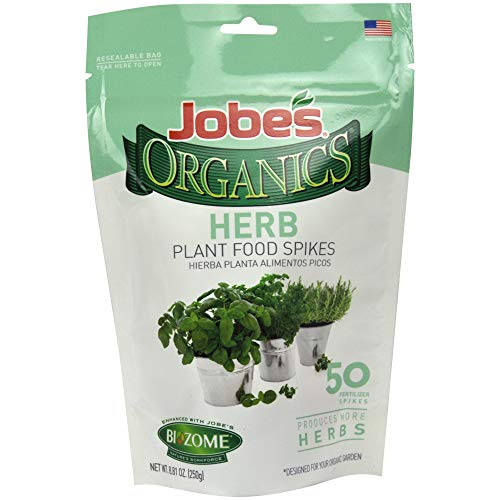 Jobe's Organics Herb Fertilizer Spikes