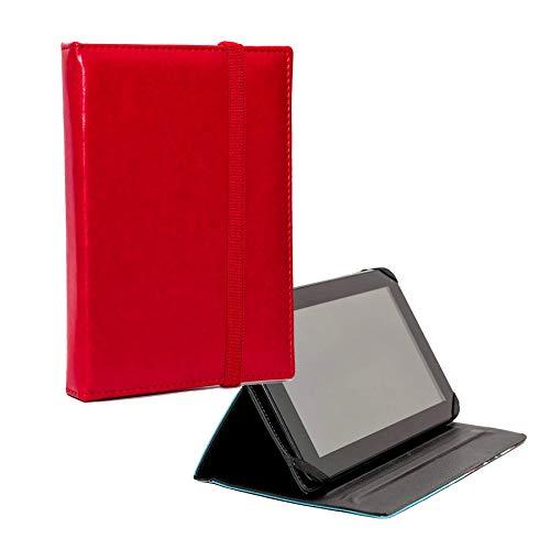 ANVAL Funda Tablet Personalizada - 7' a 13,3' - Samsung, iPad, xaomi, Huawei, Lenovo, Acer, ASUS, woxter, wolder, Energy, archos, bq, chuwi, Sony y Muchas más. (Rojo)