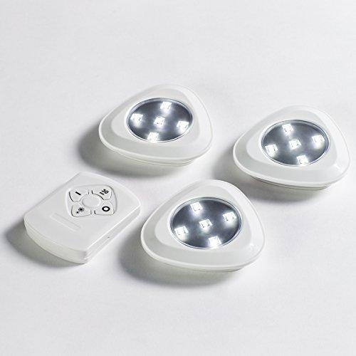 Jml Dreifach hell: ferngesteuerte, batteriebetriebene LED-Lichter.