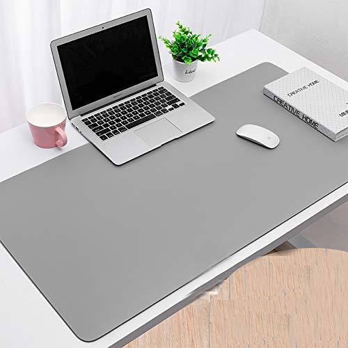 VIVOCFan leren bureau-mat beschermer, geavanceerde anti-slip rechthoekig, laptop-toetsenbord