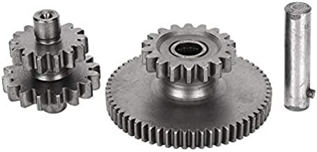 Starter Gear,17T Engine Starter Reduction Gear Kit Fit for Motorcycle 150CC 200CC 250CC CG125 CG200 CG250
