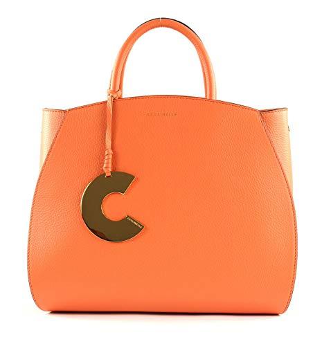 Coccinelle Concrete Handbag Peach
