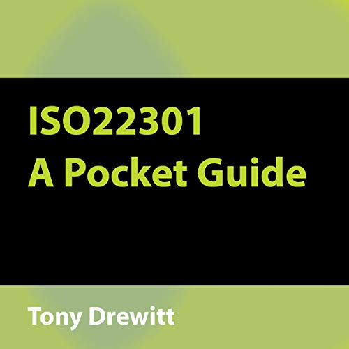 ISO22301 - A Pocket Guide cover art