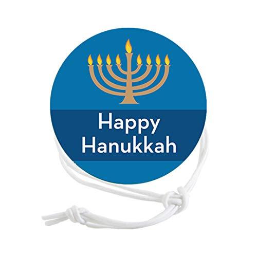 Napkin Knots Hanukkah Napkin Ring Decoration - Menorah (Pack of 10)