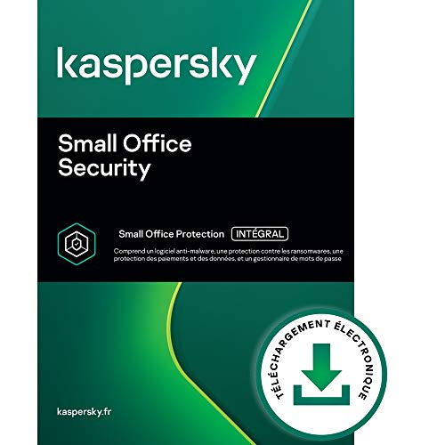 Kaspersky Small Office Security 8 | 6 Appareils 6 Mobil 1 Server | PC/Mac | Code d'activation - envoi par email