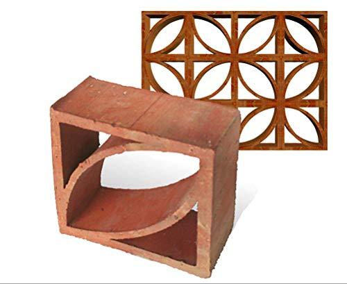 Formziegel Muster Ziegelsteine Zierstein Freiluft Dekorstein Mondial