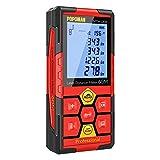 Best Laser Measures - Laser Measure,196Ft M/In/Ft Rechargeable Laser Distance Meter, Red,Big Review