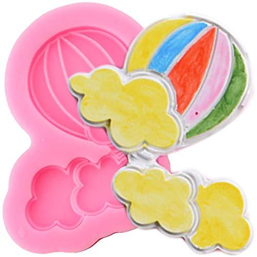YEZIDE Luftballon Silikonformen DIY Cloud Fondant Kuchen Dekorationswerkzeuge Geburtstag Candy Harz Ton Schokolade Formen