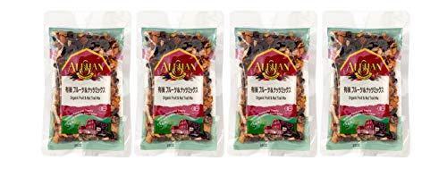 無添加 オーガニック フルーツ&ナッツミックス 120g×4個 ★ 送料無料 ネコポス ★米国産の海外認定ドライフルーツ&ナッツをミックス。一袋で様々なミネラルが摂れる優れものです
