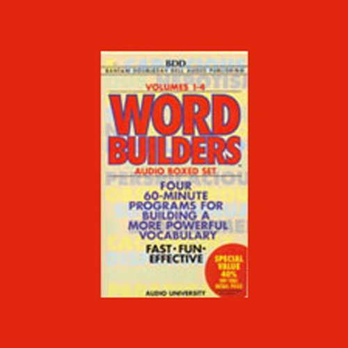 Word Builders audiobook cover art