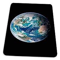マウスパッド ゲーミングマウスパッド-宇宙から見た地球の衛星写真アートプリント滑り止め デスクマット 水洗い 25x30cm