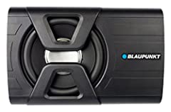 30W 8-Inch Amplified Subwoofer Made with the highest technical quality to ensure maximum reliability and durability MAX power handling 300 watts (300 Watts Peak) and an RMS power handling of 120 watts (300 Watts Peak) Features variable bass boost, ad...