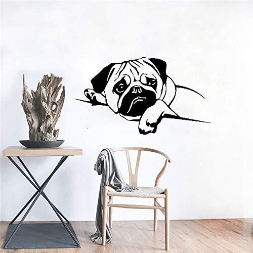 ONETOTOP Accueil Stickers Citations inspirantes Vinyle Mur Art Good Vibes Seulement Sticker Autocollant Salon Décoration Art Mural56 * 36cm