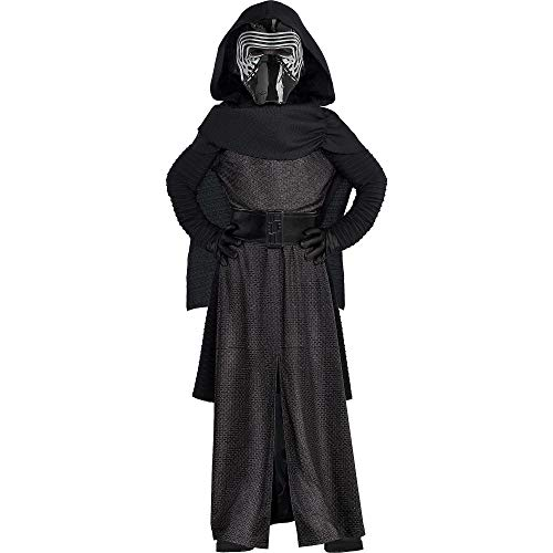 Costumes USA Star Wars 7: The Force Awakens Kylo Ren Costume Deluxe for Boys, Size Small, Includes Robe, Mask, and More