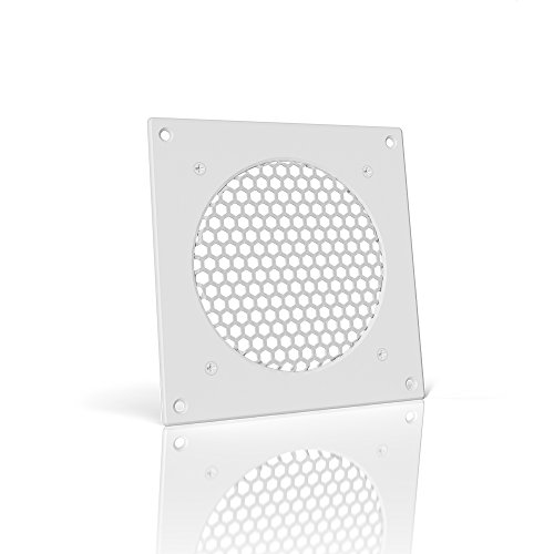 AC Infinity White Ventilation Grille 6', for PC Computer AV Electronic Cabinets, Replacement Grille for AIRPLATE S3/T3