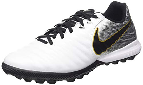 Nike Lunar Legend 7 Pro TF, Botas de fútbol Unisex Adulto, Blanco (White/Black 100), 46 EU