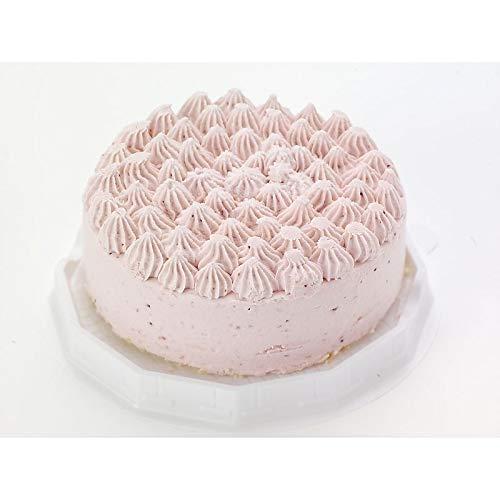( 産地直送 お取り寄せグルメ ) 北海道 札幌欧風洋菓子エル・ドール 苺レアチーズケーキ(4号)