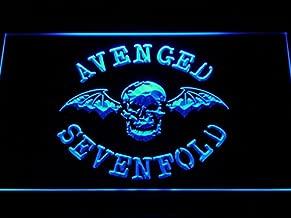 Bingirl Avenged Sevenfold Band Bar Logo LED Neon Light Sign Man Cave C113-B