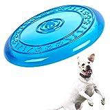 Robuste Hunde Wurf und Apportierspielzeug - Frisbee | Hunde Disc | TPR-Hundespielzeug-Frisbee |...