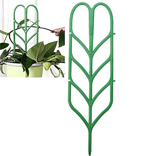 JIFNCR Garden Climbing Plant Support Cages Support Stakes Garden Trellis Vertical Climbing Plants Support Mini Climbing Plant Pot Support DIY Garden Supplies