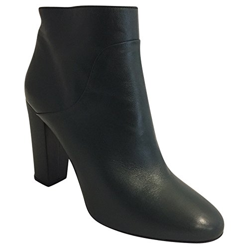 Buffalo Damen Stiefeletten Ankle Boots Booties Leder Blockabsatz 12570-355