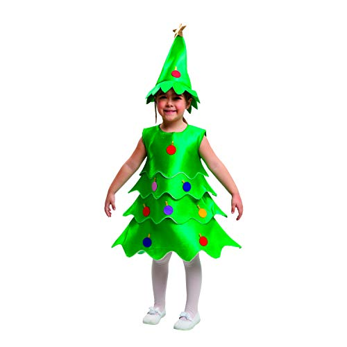 My Other Me-203471 Disfraz de pino, 3-4 años (Viving Costumes 203471)