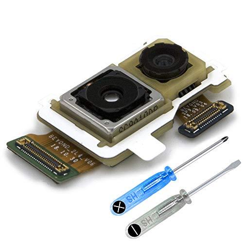 MMOBIEL Repuesto Cámara Dual Principal Trasera 16/12 MP Compatible con Samsung Galaxy S10e G970F/DS 5.8 Inch Pieza de Repuesto Incl útiles
