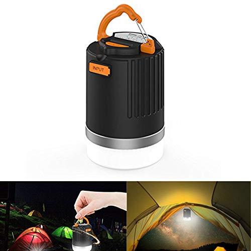 STHfficial draagbare lantaarn outdoor camping licht 440 lumen multifunctioneel USB oplaadbare LED-licht met 10400 mAh powerbank