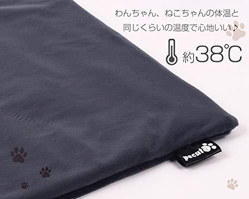 ペキュートPecuteペット用ホットカーペット角型Sサイズ40×32cmカバー2枚付き猫用小動物用一年メーカー保証