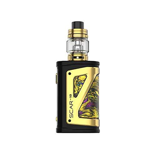 SMOK Scar 18 Box Kit 6.5ml Kit completo de cigarrillo electrónico - Sin tabaco ni nicotina (Oro Fluido)