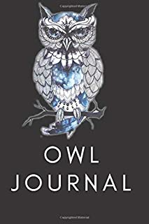 Owl Journal / Charming journal/diary offers plenty of space for your personal reflections/ Owl Forest Journal / Journal fo...