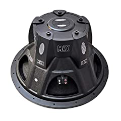 2000 WATT POWER: This car subwoofer has 2000 Watt peak power that will produce high sound resonance It also has 100 + 100 oz heavy double stacked magnet structure, hex key input terminals and dual 4 Ohm impedance FOAM EDGE SUSPENSION: Made with a spe...
