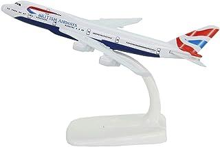 スタンドボーイングB747-400ブリティッシュ・エアウェイズ・アライナー16 CMモデル飛行機、平面モデルキット