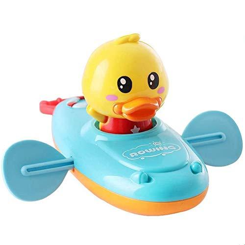 KARLOR Baby Badespielzeug, Badewanne Spielzeug Bade Spielsachen Badeente Bewergungsente Pull String Schwimmspielzeug Badezubehöhr Baby Erwachsene(schwimmt ohne Batterie)