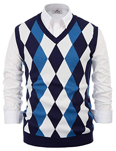 Pullover Sweaters Vests for Men