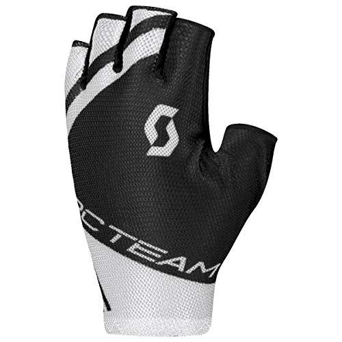 Scott RC Team Fahrrad Handschuhe kurz schwarz/weiß 2020: Größe: M (9)