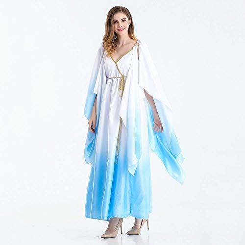 YyiHan Cosplay Disfraz, Mascarada Adulta faraón Egipcio Diosa Griega de Maquillaje Madonna Traje de Cosplay de Halloween Traje del Partido Traje del Funcionamiento de la Etapa