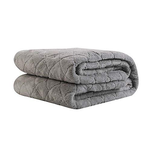 CRYX elektrische deken van polyester, maximale afmeting 200 x 180 cm, elektrische verwarmingsdeken, zachte onderdeken met 8 comfortabele instellingen, 3 uur verstelbaar, verstelbaar