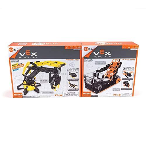 VEX Robotics, Robotic Arm & Hexcalator Construction Kit, 2-Pack