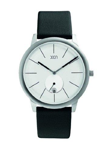 XEN Herrenuhr schwarz/weiß XQ0193