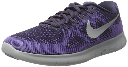Nike Women's Free Rn 2017 Running Shoes, Purple (Dk Raisin/Pure Platinum-Purple Earth-Hyp 500), 3.5 UK