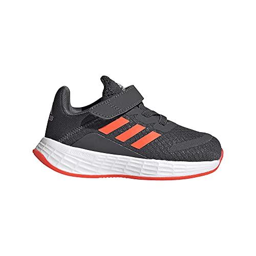 adidas Duramo SL I, Zapatillas de Running, GRISEI/Rojsol/Carbon, 25 EU