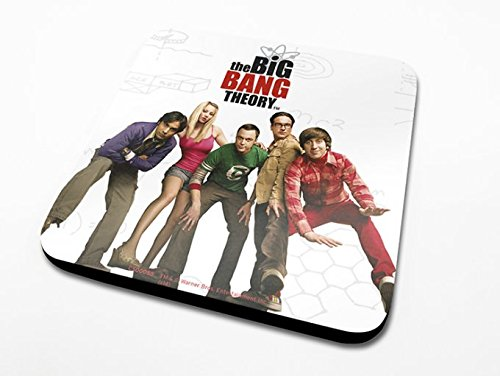 Big Bang Theory Bazinga Red Coaster Sous-Verres - 6 Piéces