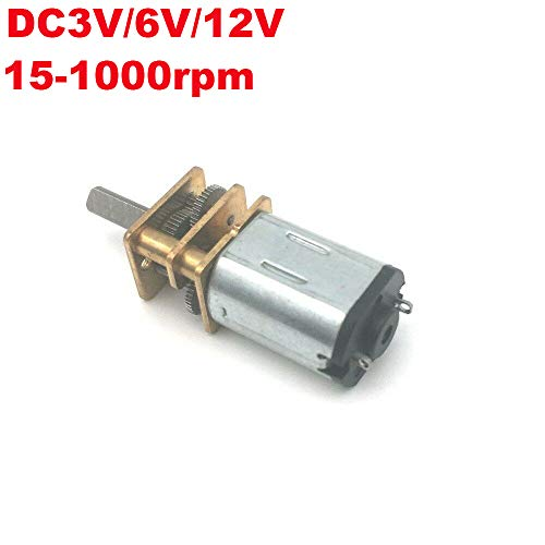 DC12V 64 tr//min all metal Gearbox speed reduction gear motor codeur pour Voiture Robot