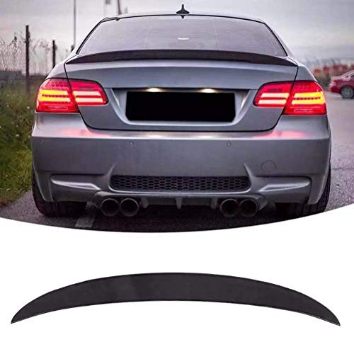 MADAENMF Spoiler Posteriore per Spoiler per Auto Nero Lucido per BMW Serie 3 E92 Coupe 2007-2013