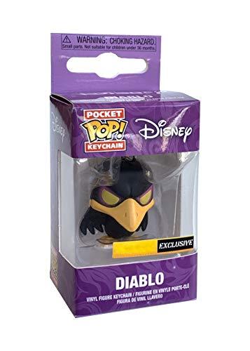 Maleficent Funko Pocket Pop Diablo Llavero 4 cm Corvo Disney Hot Topic